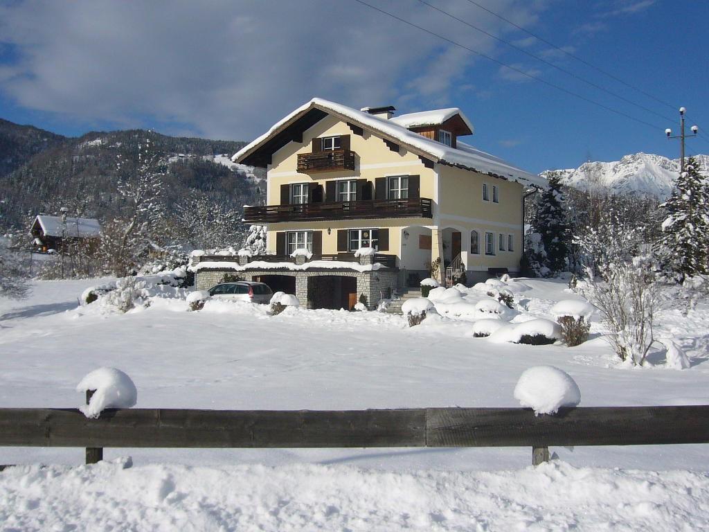 Winterimpressionen rund um das Haus Peer